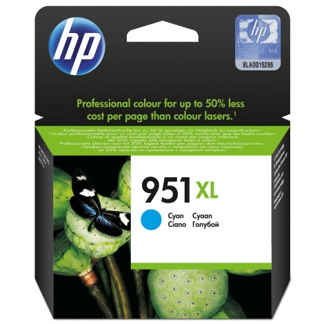 HP CN046AE Inkpatroon (951XL) Cyan