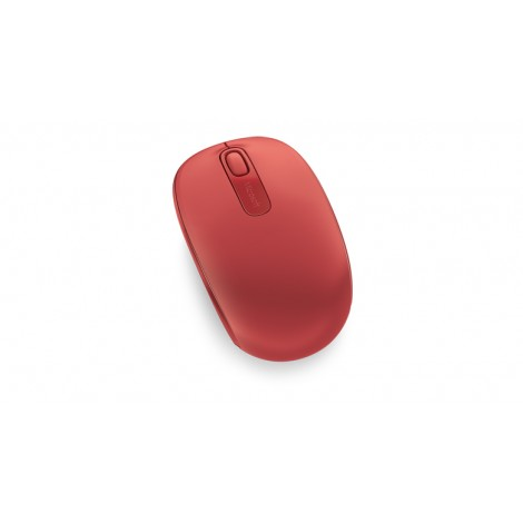 Microsoft Wireless Mobile Mouse 1850 Flame Red V2