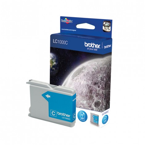 Brother LC-1000C Cyan inktcartridge