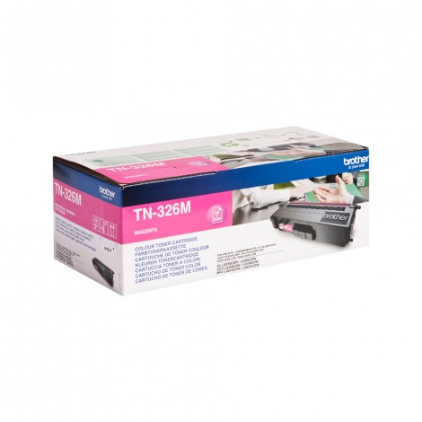 Brother TN-326M Toner Magenta HC