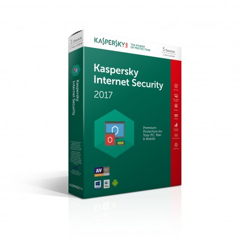 Kaspersky Internet Security 2018 NL 5-User Multi-Device