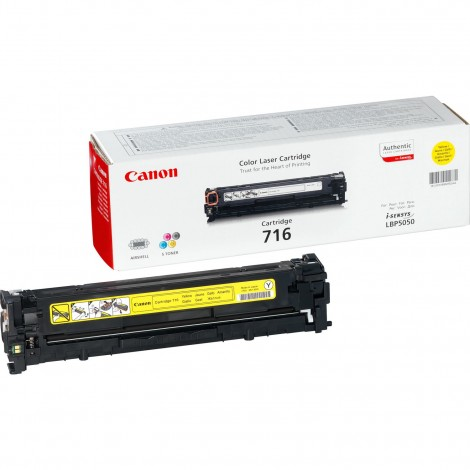 Canon 716Y Toner Yellow