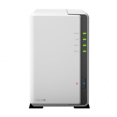 Synology Disk Station DS218J (2 Bay) 1.3ghz 512MB