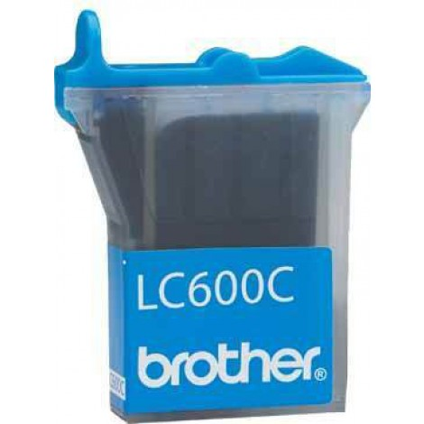 Brother LC-600C Inktpatroon Cyan