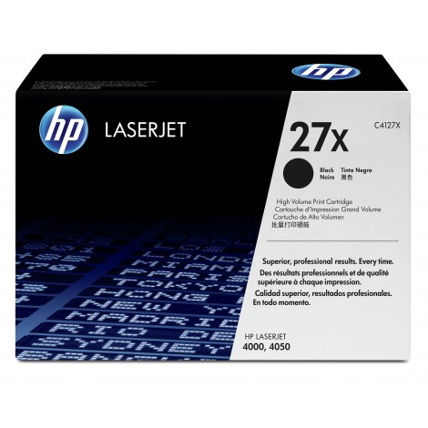 HP C4127X Tonercartridge High Capacity (27X)