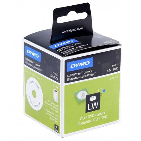 Dymo 14681 CD/DVD Etiketten 1 rol (160 etiketten)