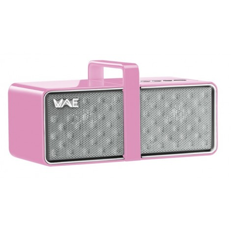 Hercules WAE BTP03 Wireless Bluetooth Speakerset Pink Mini