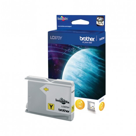 Brother LC-970Y Yellow inktcartridge