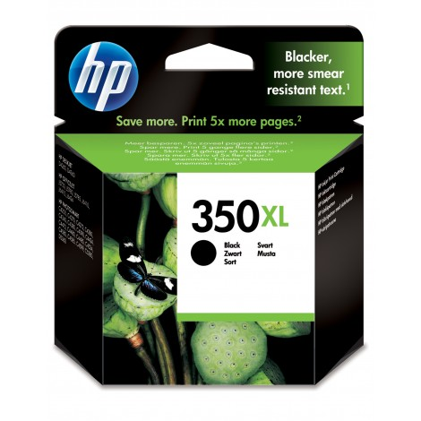 HP CB336EE Inkpatroon Zwart (350XL)