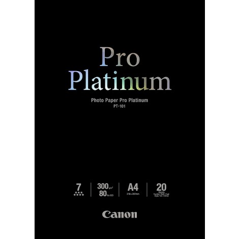 Canon PT-101 A4 Photo Paper Pro Platinum 300gr (20 vel)