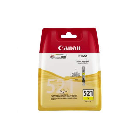 Canon CLI-521Y Inktpatroon (Yellow)