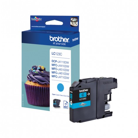 Brother LC-123C Cyan inktcartridge