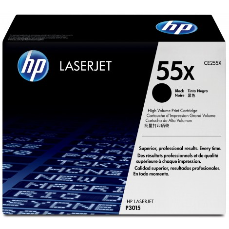 HP CE255X Tonercartridge Black