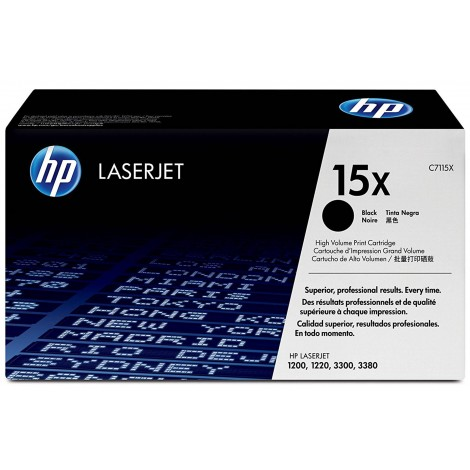 HP C7115X Tonercartridge (15X)