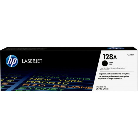 HP CE320A Tonercartridge (128A) Black