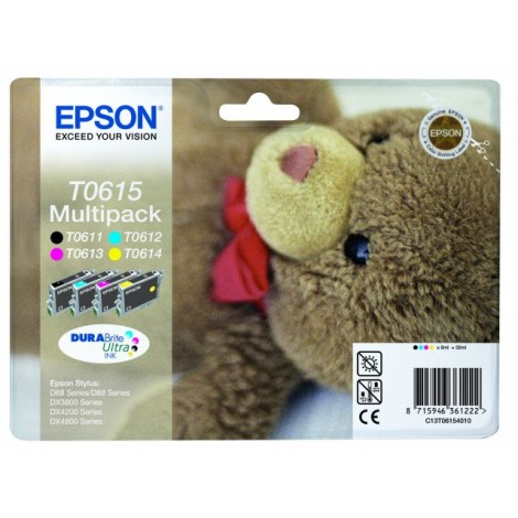 Epson T0615 Multipack (T0611/T0612/T0613/T0614)