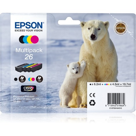 Epson T2616 Multipack (T2601/T2612/T2613/T2614)