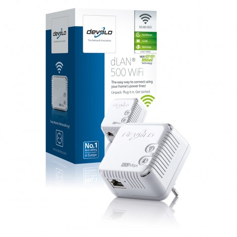 Devolo dLAN 500 Wifi Powerline (500Mbit)