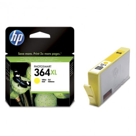 HP CB325EE Inkpatroon (364XL) Yellow