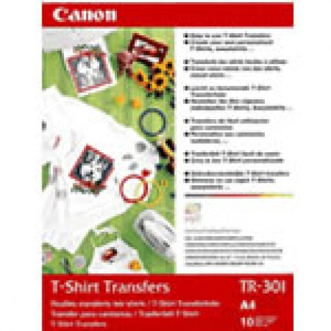 Canon TR-301 Iron-On T-Shirt Transfer Paper A4 10 Vel