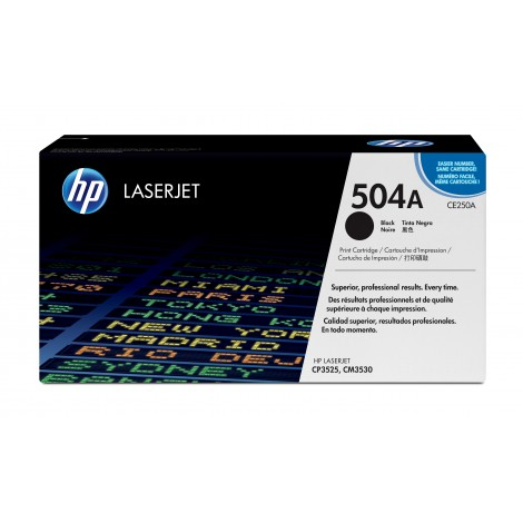 HP CE250A Tonercartridge Black