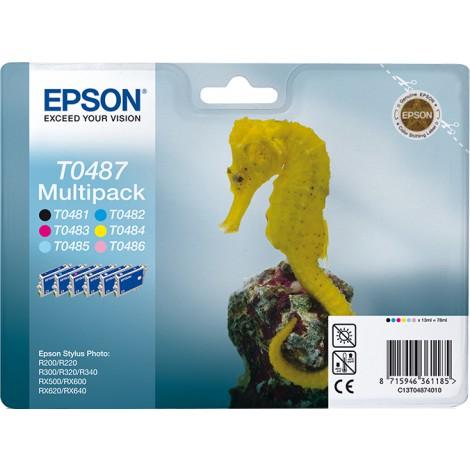 Epson T0487 Multipack (T0481/T0482/T0483/T0484/T0485/T0486)