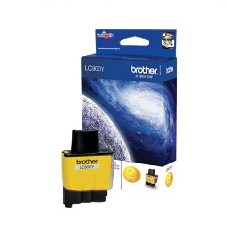 Brother LC-900Y Yellow inktcartridge