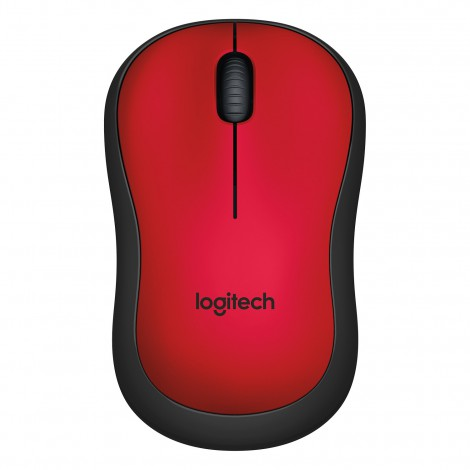 Logitech M220 Wireless Silent Mouse Red