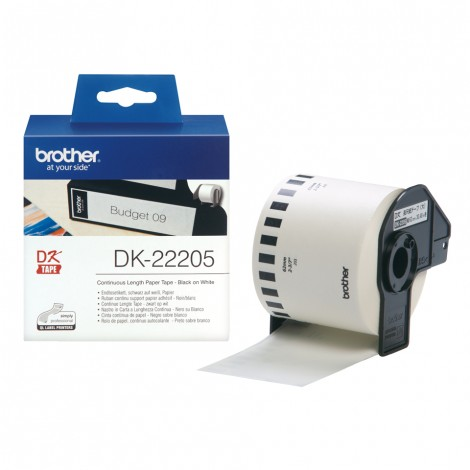 Brother DK-22205 Label 62 mm x 34.8 mm