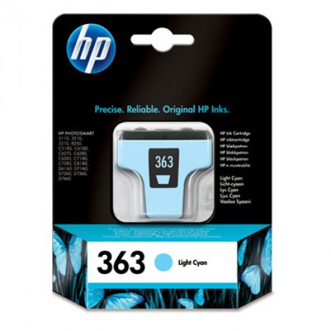 HP C8774E Inkpatroon (363) Light-Cyan