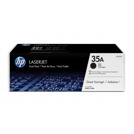 HP CB435AD Toner (35A) Duo-Pack