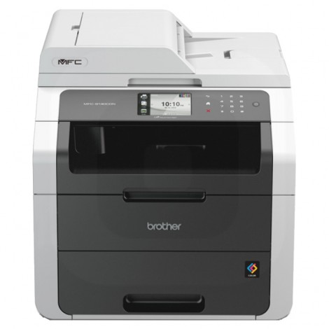 Brother MFC-9140CDN Colour Laserprinter All-in-One + LAN/Wifi/Fax