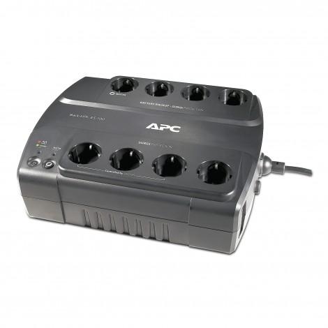 APC BE700 Back-UPS ES 700VA + 8-Poorts Stekkerdoos
