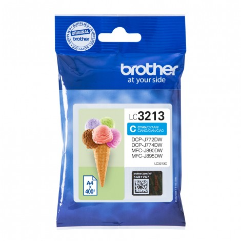 Brother LC-3213C Cyan inktcartridge High Capacity