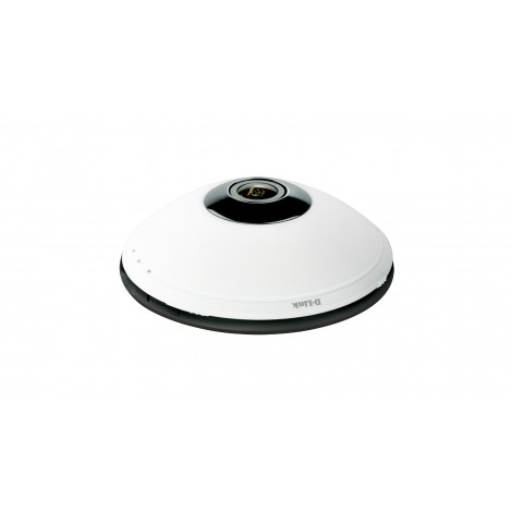 D-Link DCS-6010L Wireless N Home Network Camera (1600x1200/fisheye lens) 360 graden