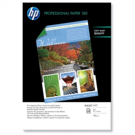 HP Q6591A A3 Superior Inkjet Photo Paper 180gr (50 vel)