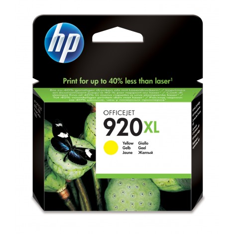 HP CD974A Inkpatroon (920XL) Yellow