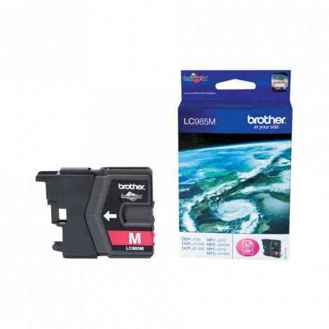 Brother LC-985M Magenta inktcartridge