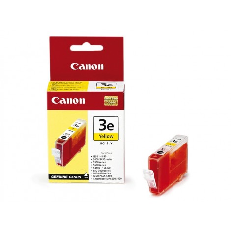 Canon BCI-3eY Inkpatroon (Geel)