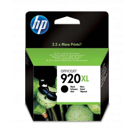 HP CD975A Inkpatroon (920XL) Zwart
