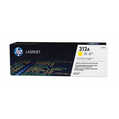HP 312A gele LaserJet tonercartridge