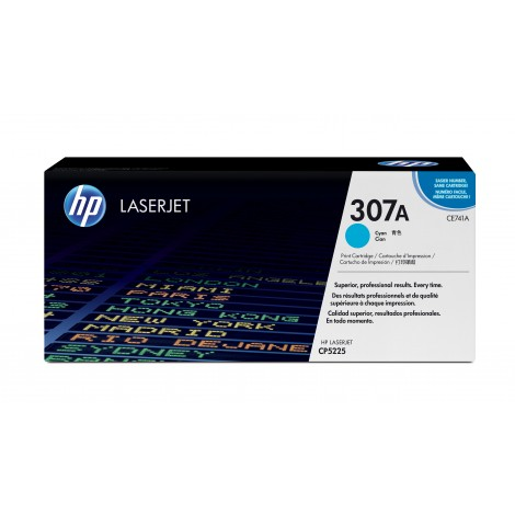 HP CE741A Tonercartridge Cyan