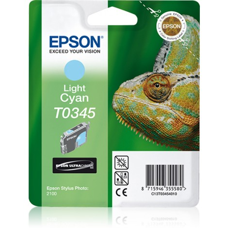 Epson Chameleon inktpatroon Light Cyan T0345 Ultra Chrome