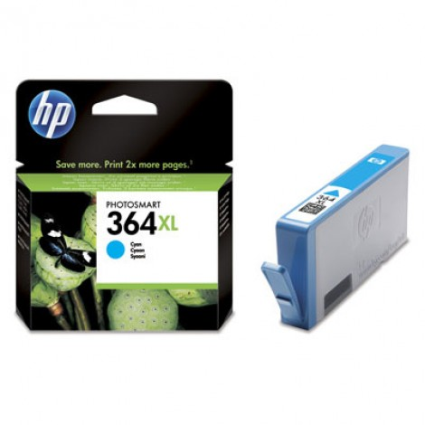 HP CB323EE Inkpatroon (364XL) Cyan