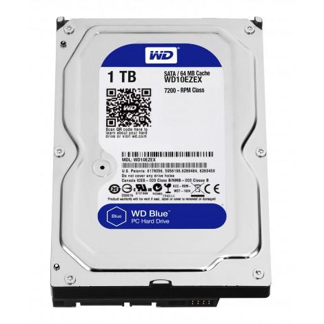 Western Digital WD10EZEX 1 TB BLUE 3.5 SATA600 64MB