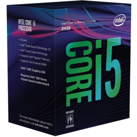 Intel Core i5-8400 (3ghz) S1151 9MB (6 Cores)