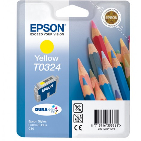 Epson T0324 Inkpatroon (Yellow)