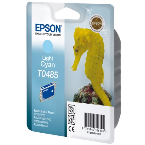 Epson T0485 Inkpatroon (Light Cyan)