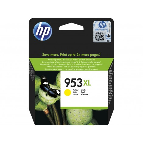 HP F6U18AE Inkpatroon (953XL) Yellow