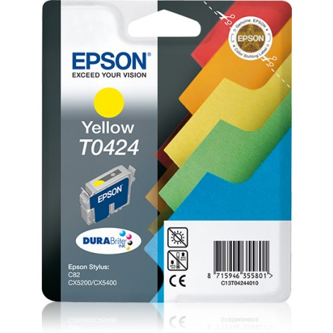 Epson T0424 Inkpatroon (Yellow)